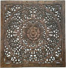 large fl wood carved wall panels