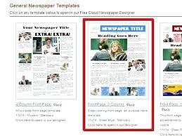 Newspaper Template Free Google Docs Newspaper Design Template Advertisement Word Free Ad Print