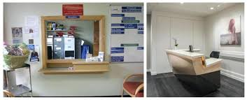 dental office colors. Dental Office Ideas The Impersonal Check In Wall Of Years Gone By Vs Compact Open Reception . Colors