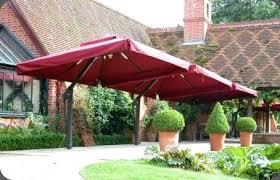 big patio umbrella large cantilever umbrellas uk