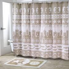 sea sand shower curtain and accessories avanti linens