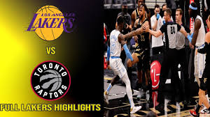 Lakers vs Raptors | Lakers Highlights | OG Anunoby body slam on Schroder  included