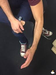 forearm size is your foot the same size as your forearm