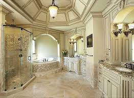 Perfect Traditional Master Bathrooms Bathroom With Builtin Bookshelf Complex Granite In Impressive Ideas