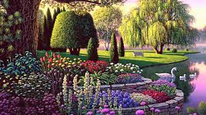 Enchanted Garden Wallpapers - Top Free ...