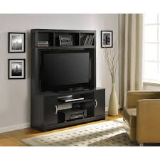 ... Wall Units, Mesmerizing Entertainment Center Walmart Ashley Furniture  Entertainment Centers Black Wooden Cabinet With Drawer ...