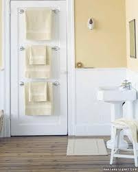 towel holder ideas. Towel Bar Trio Holder Ideas Martha Stewart