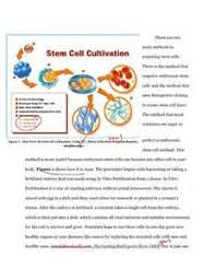 thesis statement for embryonic stem cell research original content thesis statement for embryonic stem cell research