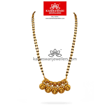 mangalsutra designs with gold pendant