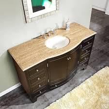 Bathrooms Cabinets : Single Bathroom Vanity Cabinets Sink And ...