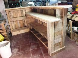 pallet bar dimensions. diy pallet bar with custom built-in shelves dimensions l