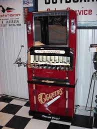 Old Cigarette Vending Machine For Sale Stunning Vending Machines Bernies Restorations