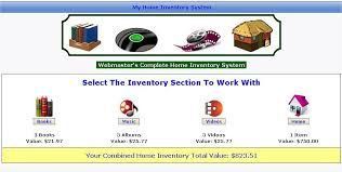 Home Inventory System Php Fusion Marketplace Home Inventory Official Home Of