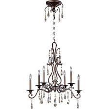 chic 6 light heritage chandelier