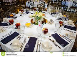 Wedding Guest Table Royalty Free Stock Image Image 18991856