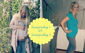 Tweede zwangerschap buik