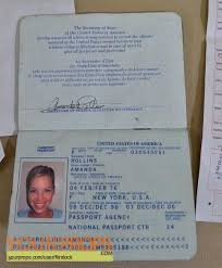 Bahamas Blue Original Prop The Into Receipts Amanda's Passport Movie amp; Entry Card