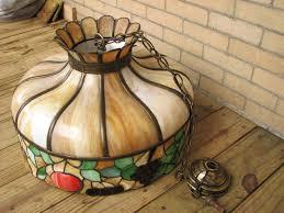 home antique furniture lighting arts crafts slag glass chandelier f7114