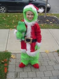 the grinch baby costume. Exellent The The Grinch That Stole Halloween Costume Idea For A Child And Baby T