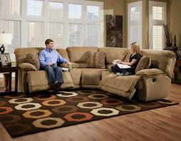 reclining sectional microfiber. Unique Reclining Grandover Reclining Sectional Power Intended Microfiber R