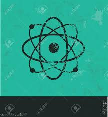 atomdesign atom design on green background royalty free cliparts vectors and