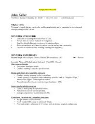 ministry resume template free examples of pastoral resumes how to write a pastor  resume .