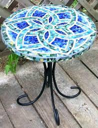 small mosaic garden table small mosaic patio table full image for small tile patio table small small mosaic garden table