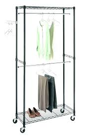 Heavy Duty Coat Rack Stands Clothes Holder Slat Waterfall Display Clothes Holder Clothing 73