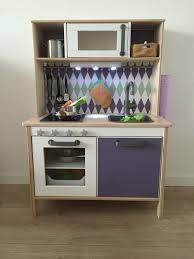 Ikea Duktig kitchen pimped with Limmaland stickers, added some knobs and a  ledlight (battery