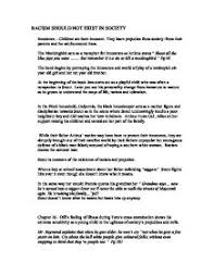 racism essay to kill a mockingbird racism in to kill a mockingbird uk essays