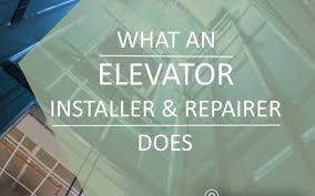 What Does An Elevator Install Repair Tech Do Local Online