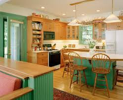The Victorian Kitchen Company Lockwood Flooring For A Transitional Kitchen With A Subway Tile