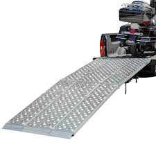 Big Boy EZ Rizer Aluminum 3-Piece Folding Motorcycle Ramp - 8' to 12 ...