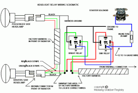 roots headlight relay wiring diagram wiring diagrams wiring diagram hid lights relay