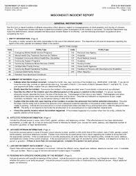 10 Example Of A Incident Report Resume Samples