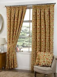 Living Room Ready Made Curtains Rani Ready Made Lined Curtains In Tapestry Terrys Fabrics Uk