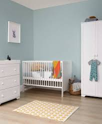 nursery white furniture. Rye Compact Cotbed 3 Piece Wooden Nursery Furniture Set - White | Collections Mamas \u0026 Papas L
