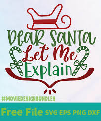 | view 653 corner flourish illustration, images and graphics from +50,000 possibilities. Dear Santa Let Me Explain 01 Free Designs Svg Esp Png Dxf For Cricut Movie Design Bundles