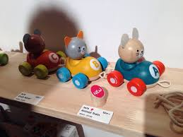 you can t go wrong with wooden pull toys plan toys owns the cute card in this