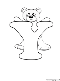 Small Picture Letter Y Coloring Sheets For Toddlers Coloring book letter y page