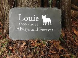 pet memorial garden stones uk personalized engraved slate dog stone grave marker s