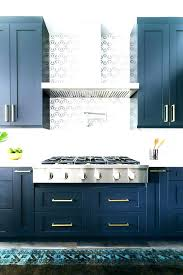 blue cabinets kitchen blue kitchen cabinets with butcher block countertops