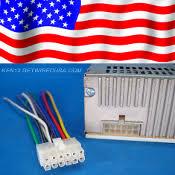 radio plugs boss stereo wire harness 12 pin radio power plug back clip