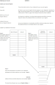 Bank Statement Reconciliation Form Balancing A Checkbook Lesson Easy Guide To Keeping Your Account