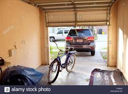 garage inside. Contemporary Inside 27th April 2016 View Of The Inside An American Home Garage Looking Out  Including A Classic Schwinn Cruiser Bike For Garage Inside H