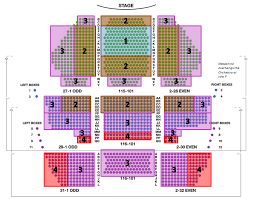 New Amsterdam Theater Seating Chart Aladdin Seating Chart
