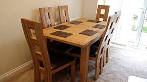 kelsey s solid oak extending dining table six weston solid oak chairs solid oak dining set