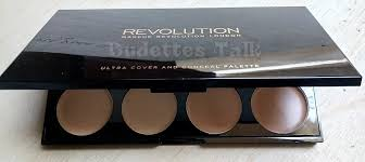 makeup revolution cover conceal palette in light um