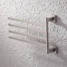 hand towel holder brushed nickel. KES Bath Towel Holder Swing Hand Rack SUS 304 Stainless Steel  Bathroom Swivel Bar Hand Towel Holder Brushed Nickel