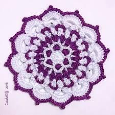 Free Crochet Mandala Pattern Inspiration Gzhel Mini Mandala Free Crochet Pattern Many Mini Crochet Mandalas